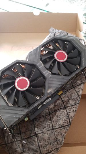 gpu xfx rx580 8gb oc+ brand new for Sale in Miramar, FL