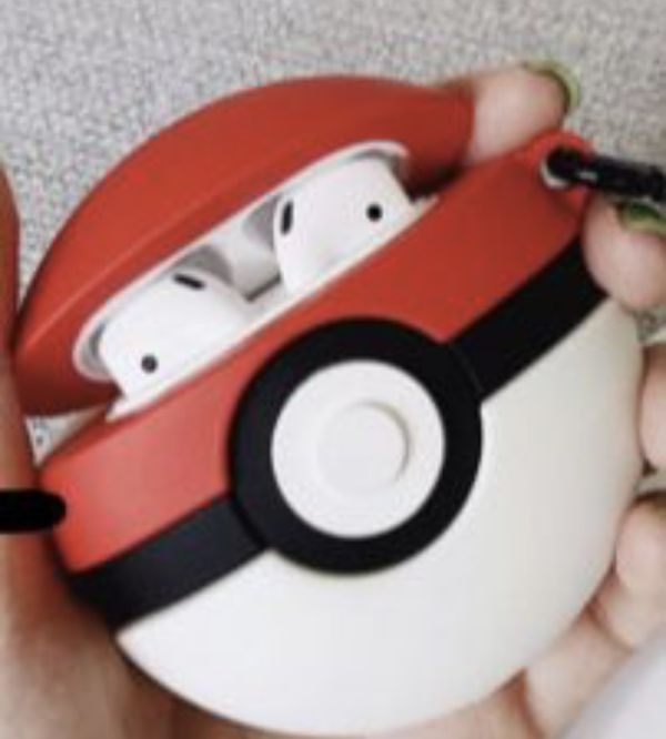 Pokémon Pokeball Airpods Case $12