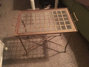 Small metal table ladies bike for Sale in Houston, TX