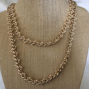 Pearl & golden chain for Sale in Baldwin, NY