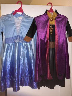 Frozen 2 Anna and Elsa costumes for Sale in San Bernardino, CA