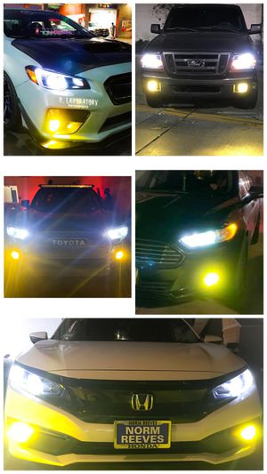 9004 9005 9006 H7 H11 Led lights (fog lights or headlights) $25 for Sale in Los Angeles, CA