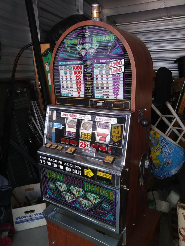 Triple Double Diamond Slot Machine For Sale