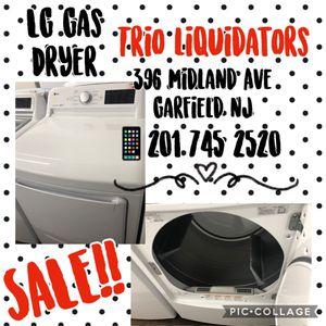 LG gas dryer SALE!! for Sale in Passaic, NJ