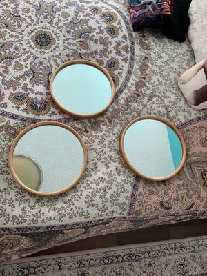 Target circle wall mirrors for Sale in North Bay Village, FL