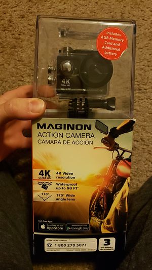 Maginon action camera (gopro) for Sale in Strongsville, OH