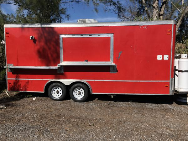 Brand New Food Truck Trailer
