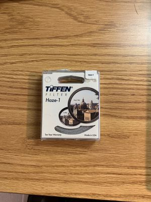 Tiffen Haze-1 filter 58mm for Sale in San Diego, CA