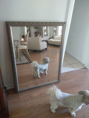Mirror classic silver for Sale in West Palm Beach, FL