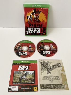 Red Dead Redemption 2 for Xbox One for Sale in Riviera Beach, FL