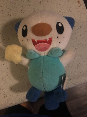 Oshawott plushie for Sale in Saint Petersburg, FL