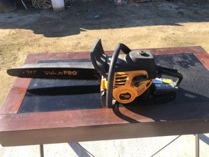 """Poulenc pro 50cc 20"""" chainsaw for Sale in Bakersfield, CA"""
