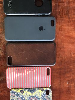 iPhone Case Collection Of Five-various Sizes for Sale in Overland Park,  KS