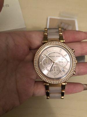 Michael Kors Rose Gold watch (women's) for Sale in Manassas Park, VA