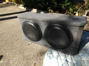 JL Audio 12 inch speakers box for Sale in Queens, NY