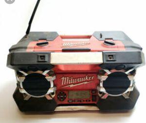 Milwaukee job site radio for Sale in Pleasant Grove, UT
