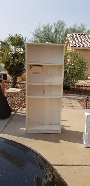 White book case for Sale in Glendale, AZ