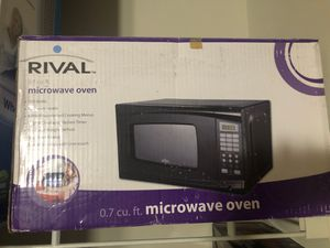 Microwave (rival brand) boxed unused for Sale in Houston, TX