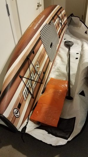 SUP Stand Up Paddle Board/California Board Company 10 ft Fishing Model for Sale in San Diego, CA