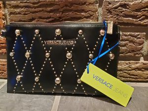 Authentic designer Versace clutch for Sale in Albany, NY
