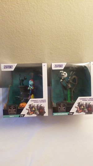 Nightmare before Christmas Sally and Jack Figures for Sale in Los Angeles, CA