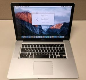 I don't accept Paypal or Cash App, Read first only offer up payment accepted or cash Apple laptops MacBook Pro 15inch 2.5 dual core, 4gb ram and 1tb for Sale in South Burlington, VT
