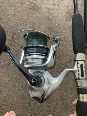Shimano Saragosa 25k fishing reel for Sale in Dana Point, CA