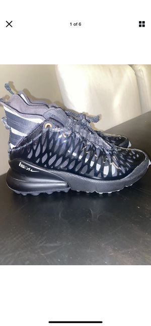 Nike Air Max 270 ISPA SP - Black/Dark Stucco/Total Crimson/Anthracite Size 4 New for Sale in Columbus, OH