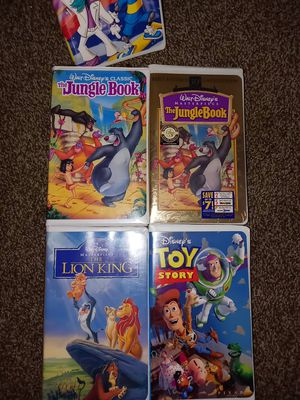 Disney's vhs tapes for Sale in Indianapolis, IN