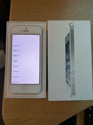 iPhone 5 unlocked for Sale in Sammamish, WA