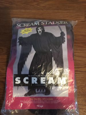 Scream stalker Halloween costume one size fits all for Sale in Wesley Chapel, FL