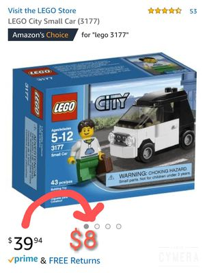 Price just dropped!! LEGO City 3177 Small Car for Sale in Bellevue, WA