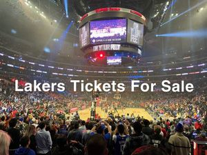 Lakers Tickets For Sale for Sale in Los Angeles, CA