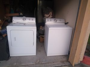 Magtag washer and dryer for Sale in Houston, TX