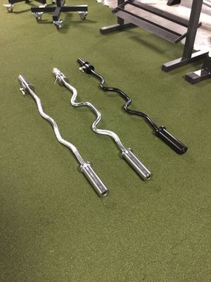 Olympic Curl Bar $45 each for Sale in Houston, TX