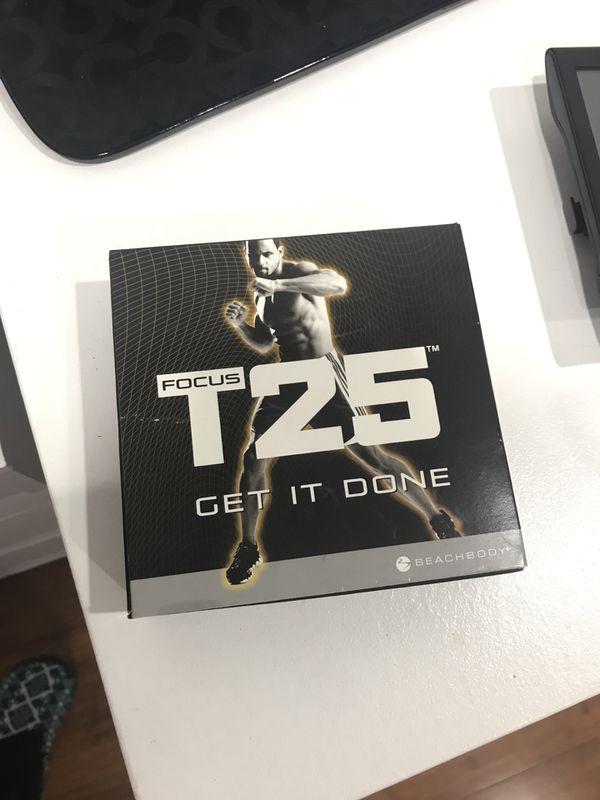T25 full DVD set