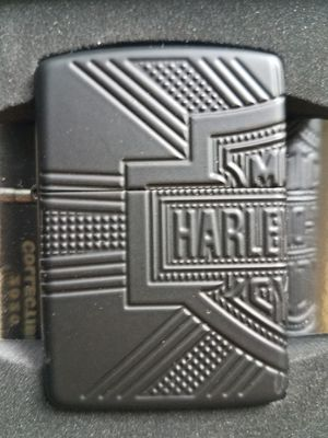 Zippo Harley Davidson armor black matte 2020 collectible 49176 for Sale in Los Angeles, CA