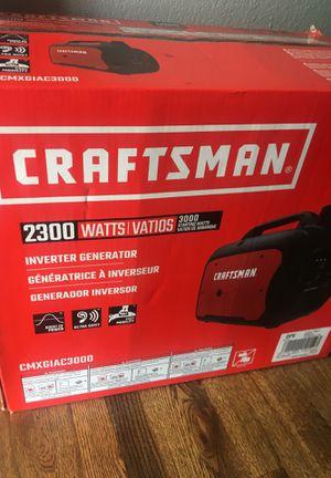 Craftsman 2300 generator $550 for Sale in Denver, CO