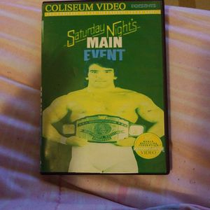 Wwf Saturday nights Main Event Dvd for Sale in Chicago, IL