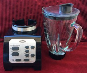 Blender - Ice Crushing 7 Speed Oster Fusion B00, Black for Sale in Lompoc, CA