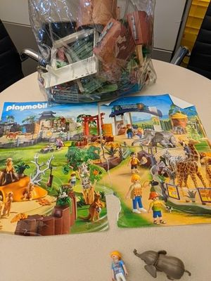 Playmobil zoo and pyramid for Sale in Englewood, CO