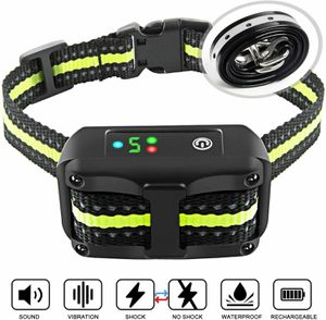 Authen Bark Collar Barking Control Training Collar with Beep Vibration and No Ha for Sale in Los Angeles, CA