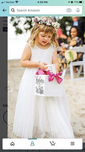 Flower girl dress for wedding for Sale in Dracut, MA