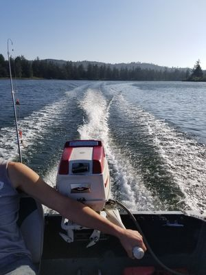 1962 sea king 15 hp outboard runs amazing for Sale in Aberdeen, WA