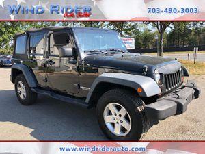 2010 Jeep Wrangler Unlimited for Sale in Woodbridge, VA