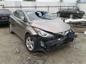 2016 HYUNDAI ELANTRA---- FOR PARTS ONLY // PARTES SOLAMENTE #7580 for Sale in Mesquite, TX