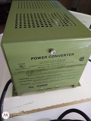 Newmark DCV 40 R 120V to 12V 40 Amp RV Power Converter for Sale in Victorville, CA