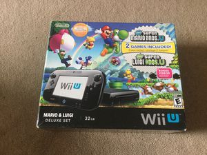 Nintendo Wii U game console for Sale in Katy, TX