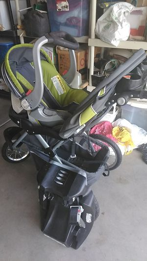 Stroller and car seat in one with mp3 for Sale in Visalia, CA