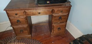 Solid wood desk for Sale in Florence Township, NJ